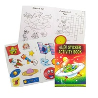 Alien Sticker Activity Book EA