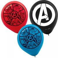 "Avengers 12"" Balloon - Pack 6"