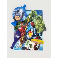Avengers Ready Bag - Rubber Bracelet, Pencil, Notepad & Eraser