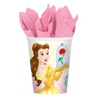 Beauty & the Beast Paper Cups - 8pkt
