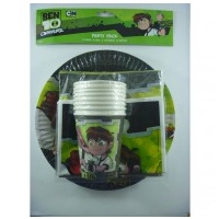 Ben 10 Party Tableware - 40pce