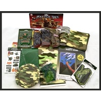 "Camo ""DELUXE"" Party Pack for 8"