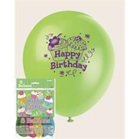 Little Chefs Balloons 8Pkt