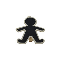 Ginger Bread Man Mini Chalk Board - each