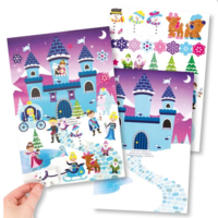 Snow Princess Sticker Scene Kit