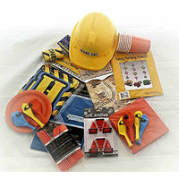 "Construction ""Delux"" Party Pack for 8"