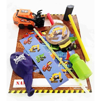 Construction Ready Bag - Hammer & Truck