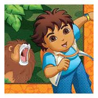 Diego Lunch Napkins - 16pkt