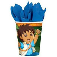Diego Paper Cups - 8pkt
