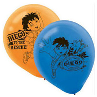 Diego 30cm Latex Balloons -6pkt