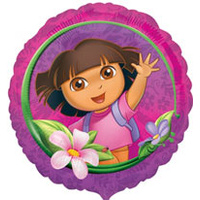 "Dora 18"" Foil Balloon - Each"