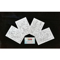 Colour-In Your Own Easter Cards - Set of 4
