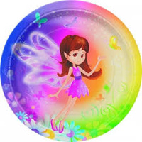 "Fairy Plate 7"" - 8Pkt"