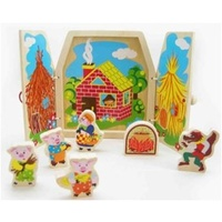 3 Little Pigs Storytelling Set