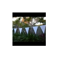 Flag Bunting White 2.8m - Each