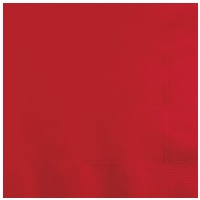 Lunch Napkin Red 20 Pkt