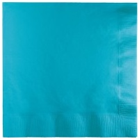 Lunch Napkins Turquoise - 50pkt