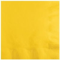 Lunch Napkins Yellow - 20pkt