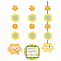 Happi Tree Hanging Cut outs - 3pkt