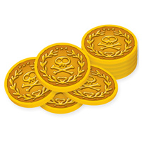 Jake & TNL Pirates Gold Coins