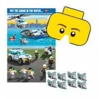 Lego Pin the Shark Game - Ea