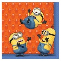 Minions Lunch Napkins - 20pkt