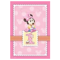 Minnie Mouse 1st Loot Bag (empty)