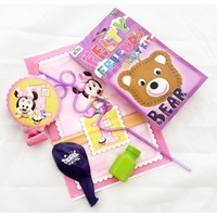Minnie Mouse Ready Bag - Felt Animal Sewing