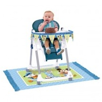 Mickey Mouse 1st High Chair Kit