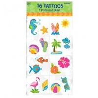 Tropical Tattoo - Pkt of 8