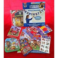 "Paw Patrol ""Deluxe"" Party Pack for 8"