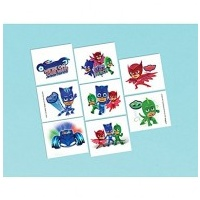 PJ Masks Tattoo - 8 pkt