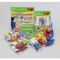 "Sesame Street 1st Birthday ""Deluxe"" Party Pack for 8"