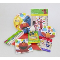 "Sesame Street ""DELUXE"" Party Pack for 8 (Any age)"