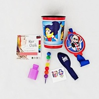 Super Hero Girls Ready Bag - Hair Chalk & Emoji Stacker