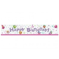 Shopkins Birthday Banner - Each