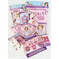 "Sofia the 1st ""Deluxe"" Party Pack for 8"