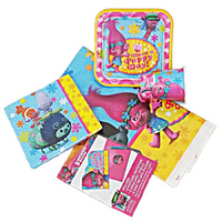 "Trolls ""STARTER"" Party Decoration Pack for 8"