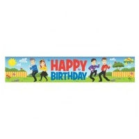 Wiggles Birthday Banner - Each